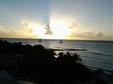 sunset view from our room picture of divi aruba phoenix beautiful sunset from our balcony room 963 bild fr 229 n