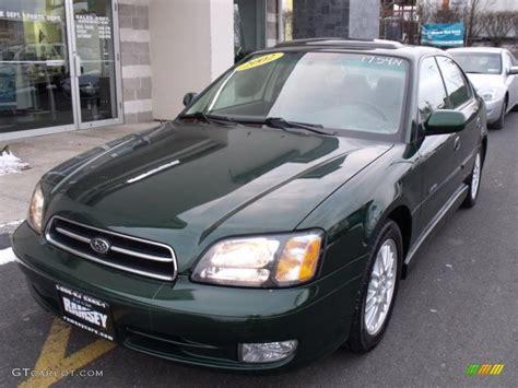 2002 green subaru 2002 timberline green metallic subaru legacy gt limited