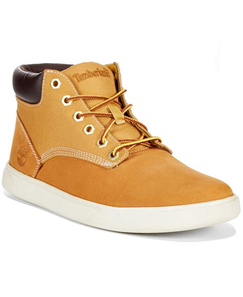 timberland high top sneakers timberland s earthkeepers groveton hi top sneakers in