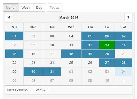 Angular Ui Calendar Angularjs Responsive Calendar Directive Angular Script