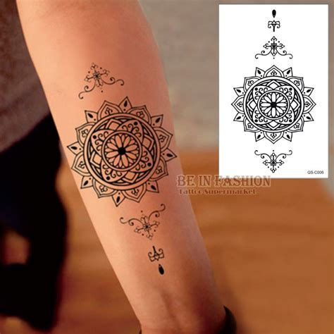 henna tattoo buy aliexpress buy 1piece waterproof temporary