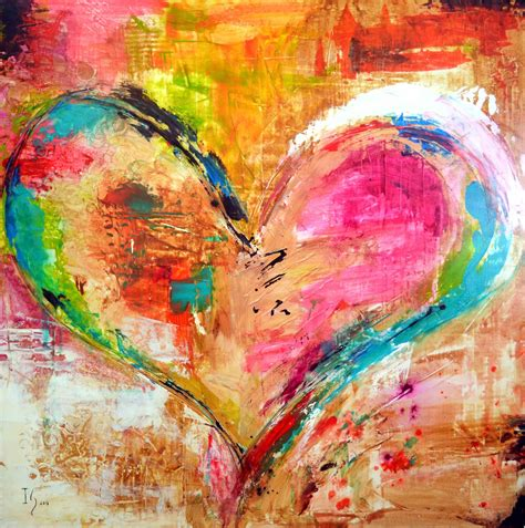 Heart Paintings Ivan Guaderrama Official Site Images To Paint For