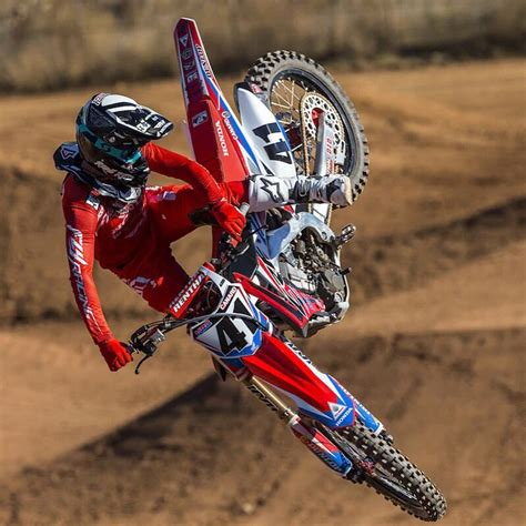 motocross bike race 2016 team honda hrc crf450r trey canard cole