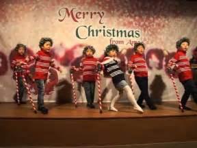 jingle bells christmas dance song in chomel s preschool