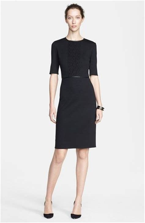 professional work dresses for women chic professional woman work outfit st john collection