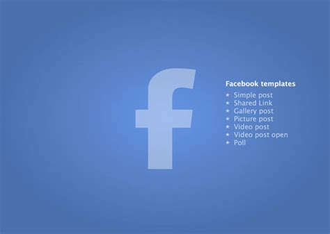 powerpoint facebook template yasnc info