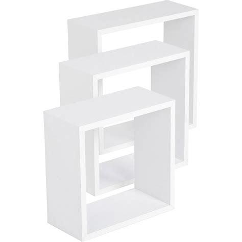 Etagere 50 X 30 by Etag 232 Re 3 Cubes Blanc 3 Dimensions 30 X 30 27 X 27 24