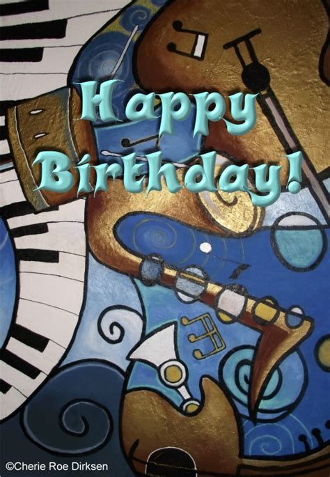Musical Happy Birthday Cards