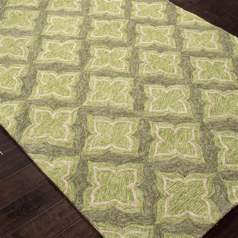 green and grey rug jaipur rugs etoile 2 x 3 indoor outdoor rug green gray ultimate patio