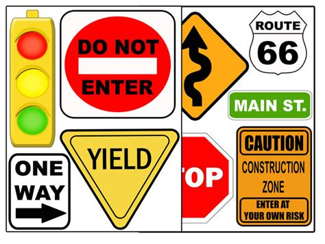 printable road signs australia printable road signs clipart best
