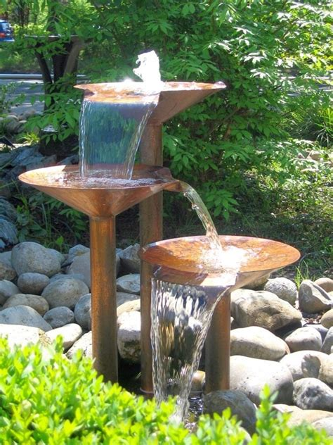 Backyard Water Fountains Ideas 40 Beautiful Garden Ideas