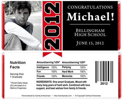 graduation banner graduation candy bar wrappers