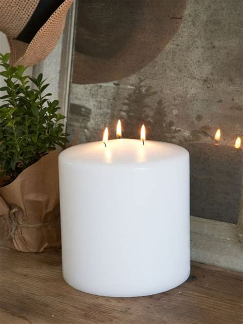 3 Wick Candles Three Wick Pillar Candle