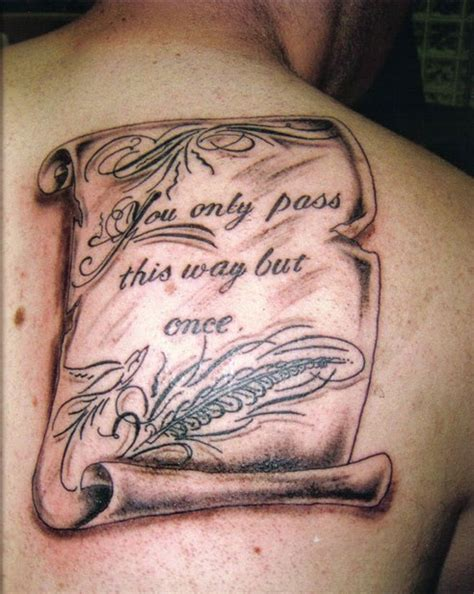 scroll tattoos for men scroll tattoos designs ideas and meaning tattoos for you