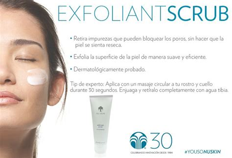 Exfoliant Scrub Nu Skin by 17 Best Images About Productos On Throat