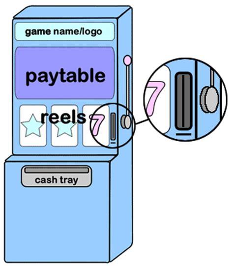 slot machine diagram arrowhead bar grill