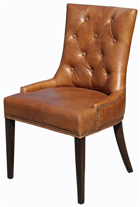 brown dining chair r 1071 accent tufted fabric chair