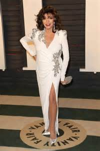 Collins Vanity Fair Oscar 2016 Joan Collins 2016 Vanity Fair Oscar In Beverly