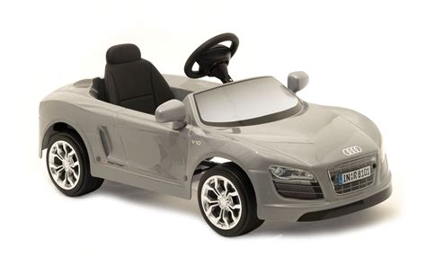 Audi R8 Spyder Electric Car by Children Electric Car Toys Toys Audi R8 Spyder Silver