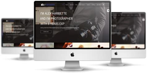 lt photography free joomla photography template