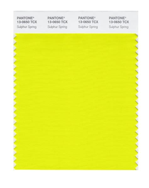 sulfur color buy pantone smart swatch 13 0650 sulphur