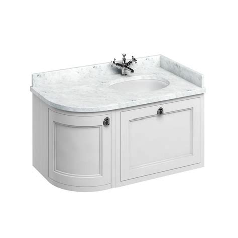 Curved Vanity Unit by Curved Wall Hung Bathroom White Vanity Unit