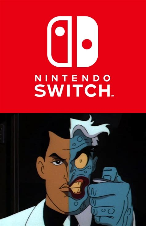 Nintendo Switch Memes - switch the two face of nintendo nintendo switch know your meme