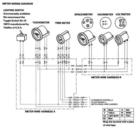 diagrams 739591 yamaha outboard wiring harness diagram