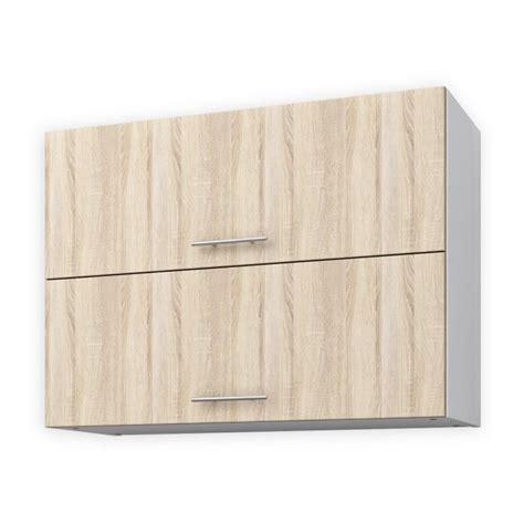 meuble cuisine 80 cm largeur elements bas obi meuble haut de cuisine l cm dcor chne c
