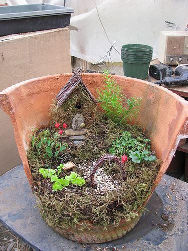 clay pot garden clay pot garden flickr photo