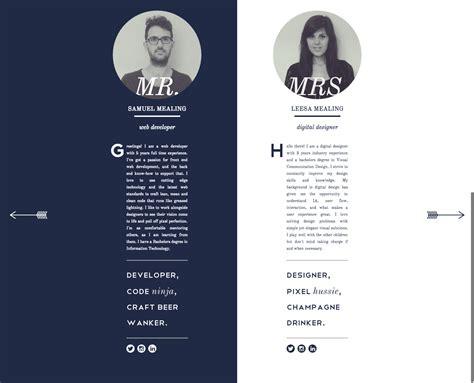 个性宣言 一组走心又独特的 关于我们 页面设计 下 优设 uisdc