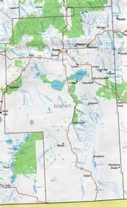 harney county map oregon oregon hotels motels