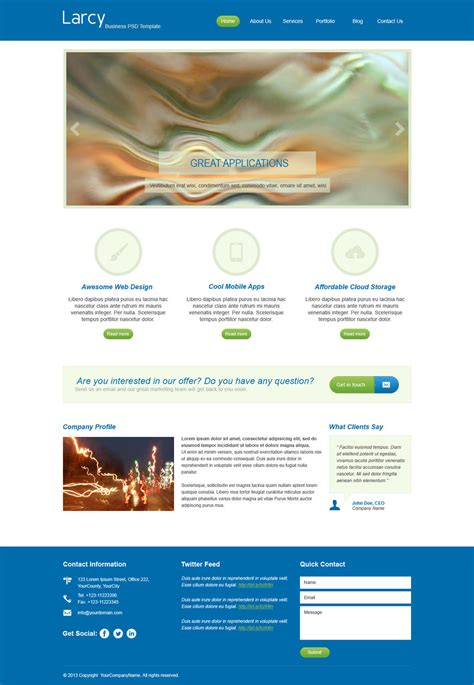 corporate psd template free business psd template by xara24 on deviantart