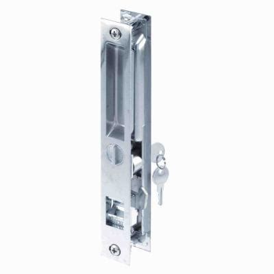 Sliding Patio Door Lock Mechanism National Hardware 1 1 2 In Sliding Door Latch In Nickel V800 1 1 2 Dr Ltch Nic The Home Depot