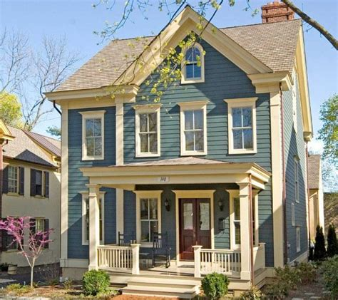 Best Color For Small House Small House Colors House Plans | best exterior paint colors for small houses stonerockery