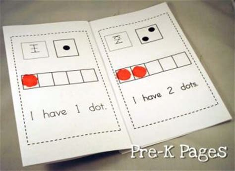 printable numbers book pre k math numbers and counting