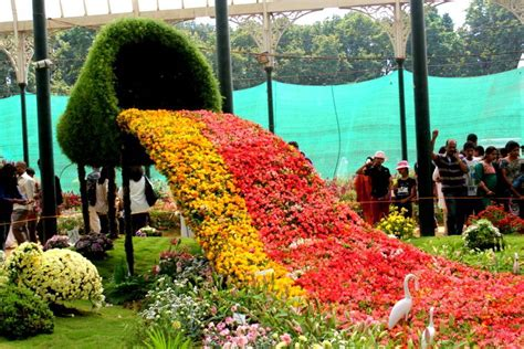Flower Gardens In India Lalbagh Flower Show Republic Day 2017 At Lal Bagh Bangalore Events High
