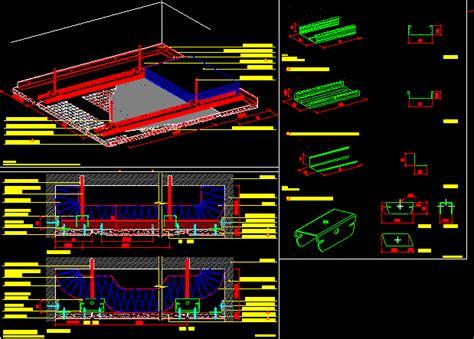 pladur fon roofs dwg block  autocad designs cad