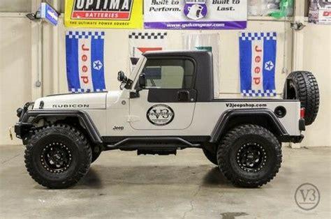 Jeep Rubicon Truck Conversion Sell Used 2006 Jeep Wrangler Unlimited Rubicon Sport 4 0l