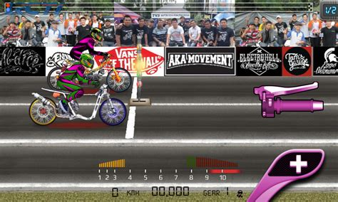 mod game drag racing indonesia azai hanz download free apk app premium game mod drag