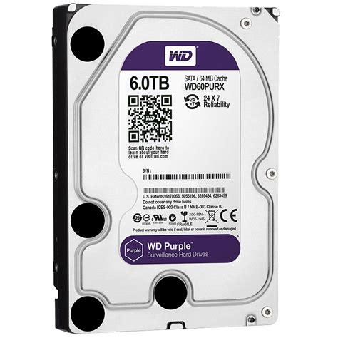 western digital purple 6tb 3 5 quot surveillance drive wd60purx z wd60purx z centre