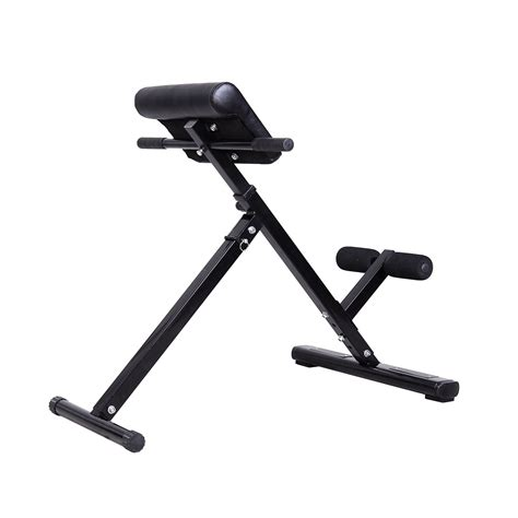 folding hyperextension bench soozier folding back hyper extension bench hyperextension