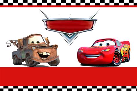 moms kiddie party link disney cars party invitation