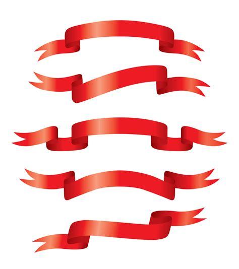 logo ribbon vector free free vector 5 sets of festive ribbon banner vector material ribbon banner