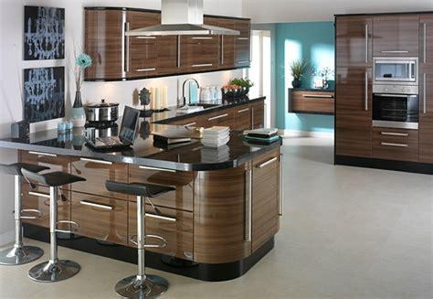 moderne küchengestaltung design rot k 252 cheninsel