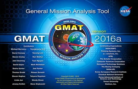 design space software nasa space mission design software release gmat r2016a
