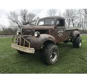 1946 Dodge Ratrod Truck Patina 4x4