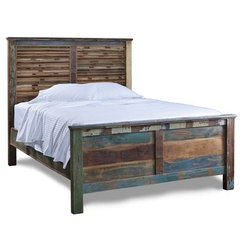 Charm Reclaimed Wood Bedroom Furniture The Better Plank Bedroom Furniture
