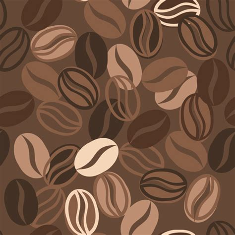 wallpaper coffee vector set of dark coffee vector background 03 vector