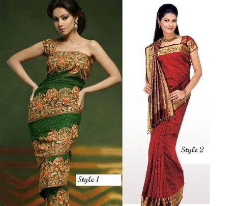 draping sarees in different styles saree draping styles google search saree draping